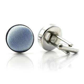 Запонки #020 (голубые)