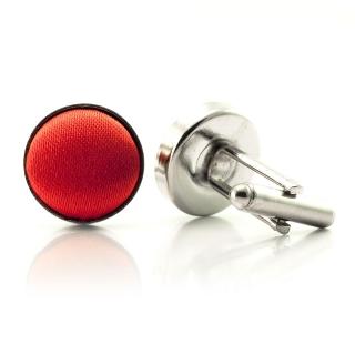 Запонки #021 (красные)