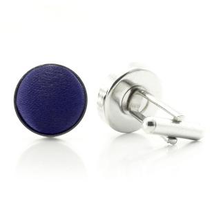 Запонки #024 (синие)