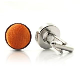 Запонки #025 (оранжевые)