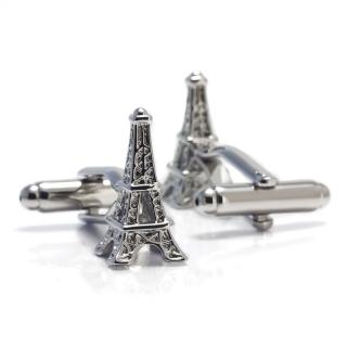 Запонки #033 (Эйфелева башня)