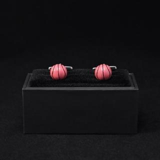 Мужские запонки баскетбольный мяч