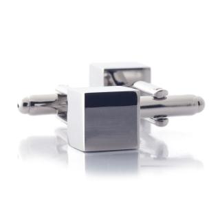 Запонки #004 (куб)