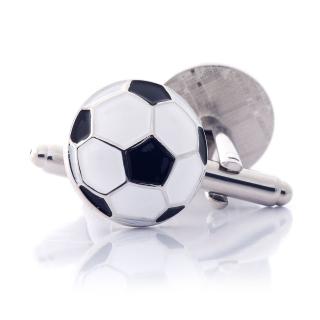 Мужские запонки в виде мяча